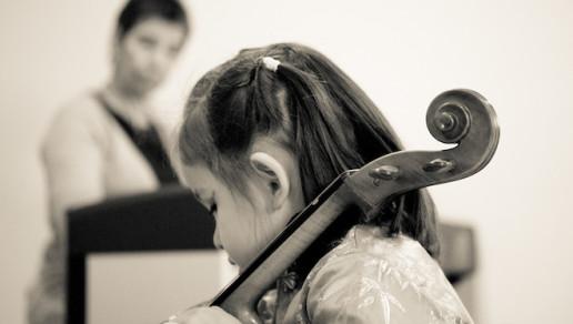 cello student confidence