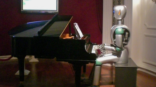is this the key to being less robotic on stage