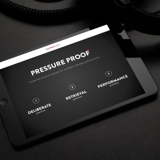 the bulletproof musician - pressure proof